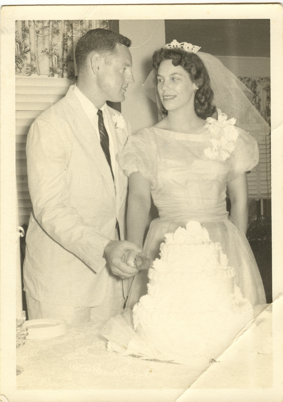 Van and Berna Wedding 1959